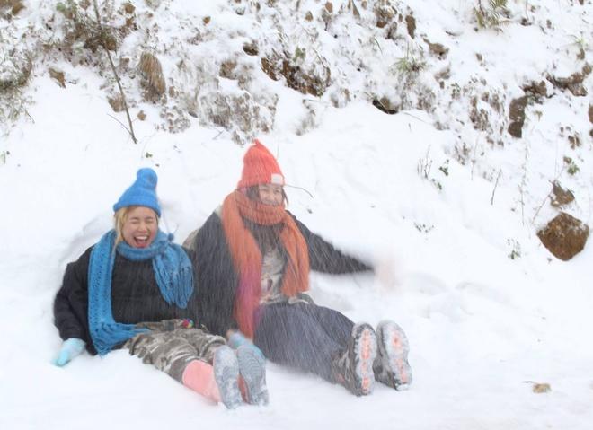 Dự báo thời tiết cho thấy tuyết rơi ở Mẫu Sơn và nhiều tỉnh miền Bắc