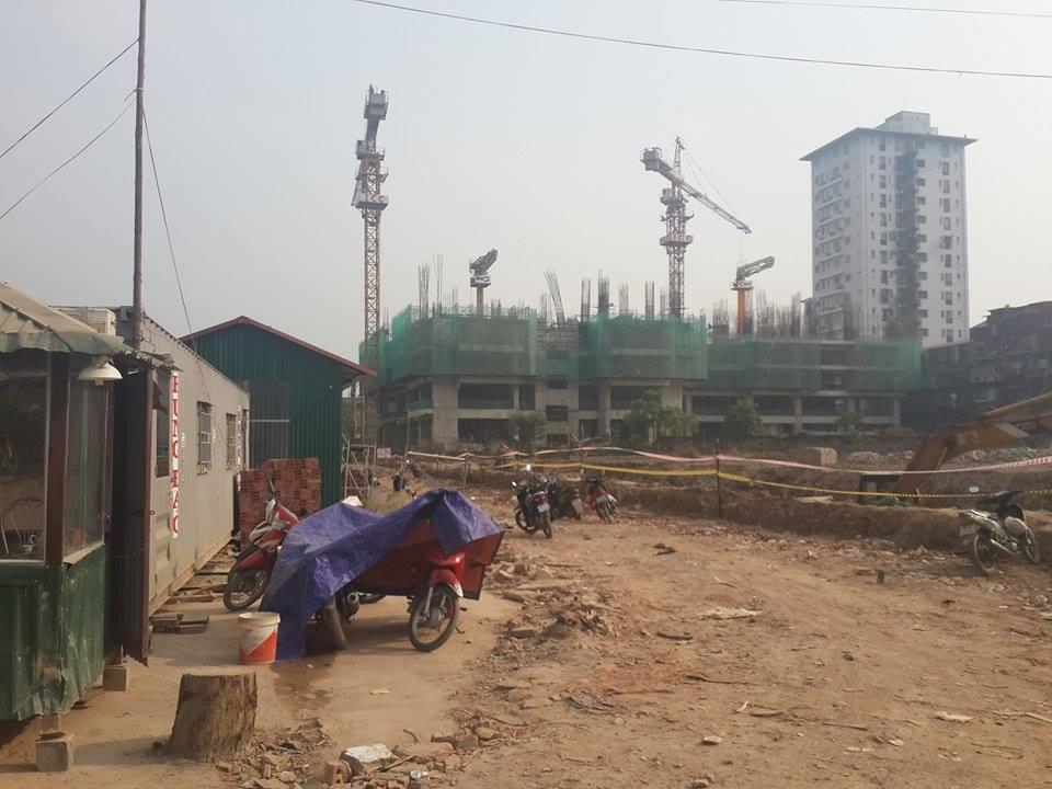 Một góc dự án 1.14HH Láng Hạ - Thanh Xuân