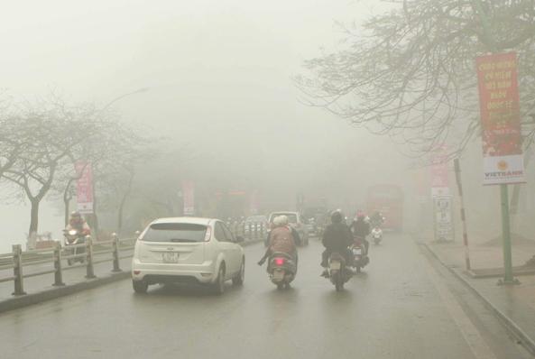 Dự báo thời tiết hôm nay 26/12, Bắc bộ có mưa nhỏ và sương mù nhẹ