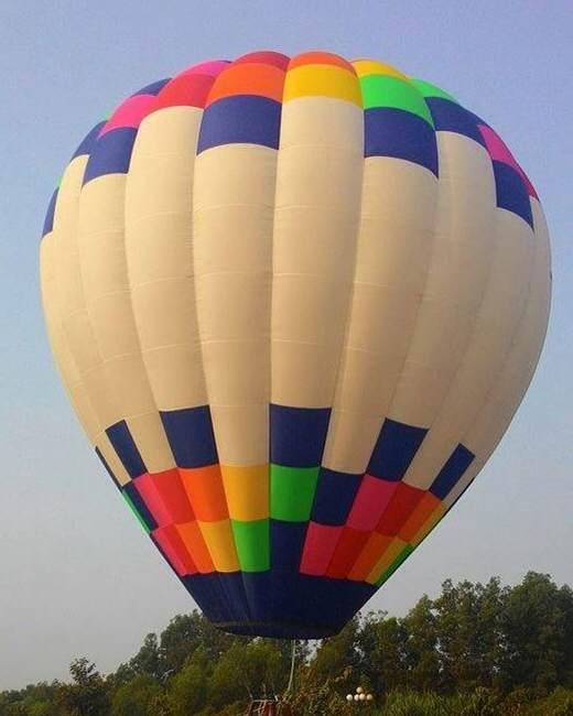 Khinh khí cầu sẽ được thả tại đường hoa 11 tỷ