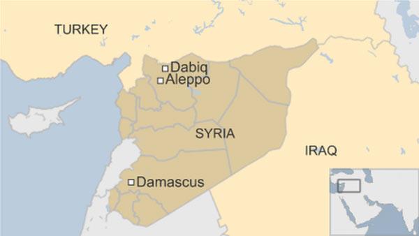 Chiến sự Syria hôm nay đề cập đến quân nổi dậy Syria chiếm thành trì Dabiq của IS ở Syria