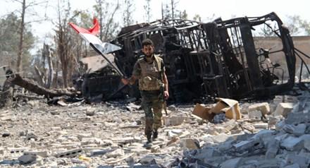 Quân đội Syria ở Aleppo