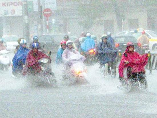 Dự báo thời tiết hôm nay ngày 26/10: Mưa dông rải rá khắp cả nước. Ảnh minh họa
