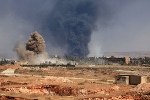 Chiến trường Aleppo, Syria vẫn chưa im tiếng súng. Ảnh: Yahoo
