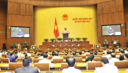 Toàn cảnh phiên chất vấn thứ hai của Kỳ họp thứ 2, Quốc hội khóa XIV