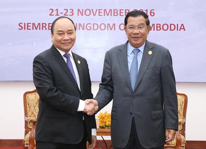 Thủ tướng Nguyễn Xuân Phúc bày tỏ vui mừng được dẫn đầu Đoàn đại biểu Chính phủ Việt Nam tham dự Hội nghị. Ảnh: VGP