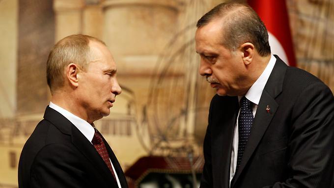 Chiến sự Syria: Tổng thống Nga Vladimir Putin điện đàm với người đồng cấp Thổ Nhĩ Kỳ Rayip Erdogan