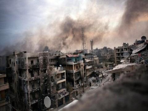 Chiến sự Syria: Giao tranh tại Aleppo, Syria đã khiến nhiều khu vực đông dân cư bị tàn phá nặng nề