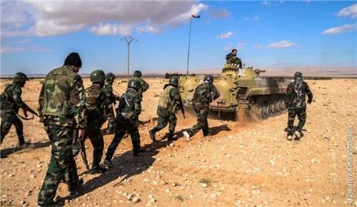 Chiến sự Syria: Quân đội Syria chiếm lại nhiều khu vực đã mất tại bắc Hama.