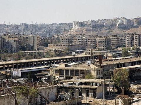 Chiến sự Syria: Khu vực phía đông Aleppo do quân nổi dậy kiểm soát