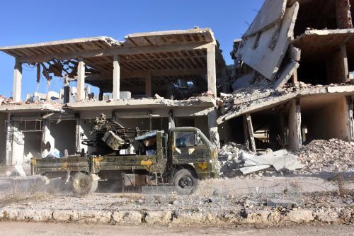 Chiến sự Syria:Nga và lực lượng đối lập Syria bàn về ngừng bắn ở Aleppo. Ảnh: AFP/TTXVN