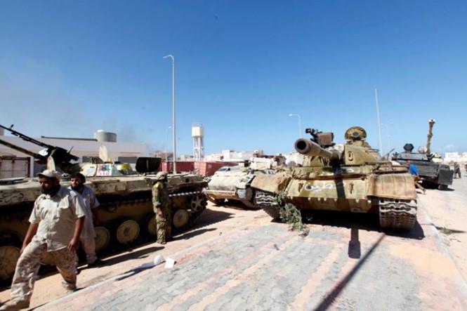 Khủng bố IS: Quân đội Libya giành lại thành phố Syrte từ tay IS. Ảnh: Reuters