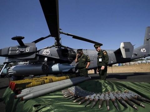 Chiến sự Syria: Nga đã thử nghiệm rất nhiều loại vũ khí ở Syria
