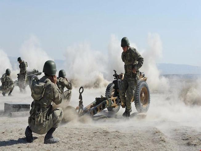 Chiến sự Syria: Binh sĩ Thổ Nhĩ Kỳ tham gia chiến dịch Lá chắn Euphrates tại Syria. Ảnh: AFP