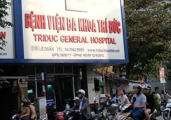 Đình chỉ hoạt động khám chữa bệnh của 10 nhân viên bệnh viện Trí Đức