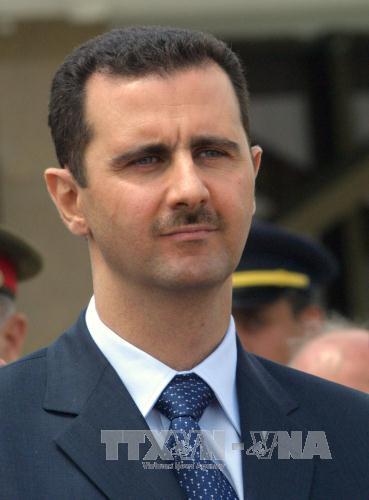 Tổng thống Syria Bashar al-Assad (ảnh) cho biết lạc quan về cuộc hòa đàm sắp diễn ra. Ảnh: AFP/TTXVN