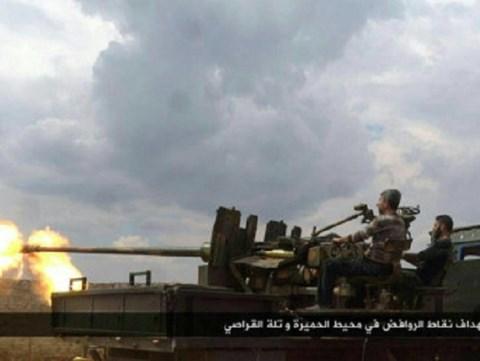 Chiến sự Syria: Syria tấn công dữ dội phiến quân ở nam Aleppo