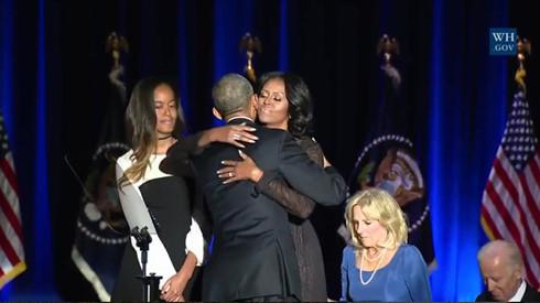 Tổng thống Obama dành những lời lẽ tuyệt vời để nói về Đệ nhất Phu nhân.