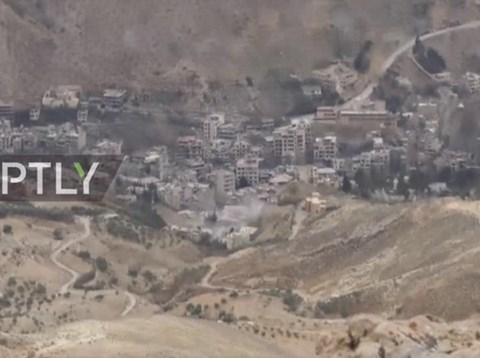 Chiến sự Syria: Thị trấn Al-Fijah ở ngoại ô Damascus