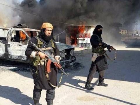 Khủng bố IS vẫn đang kiểm soát phần lớn thành phố Deir al-Zor