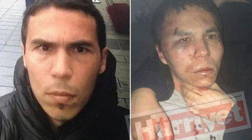 Khủng bố IS: Tên Abdulkadir Masharipov lúc trước và khi bị bắt.