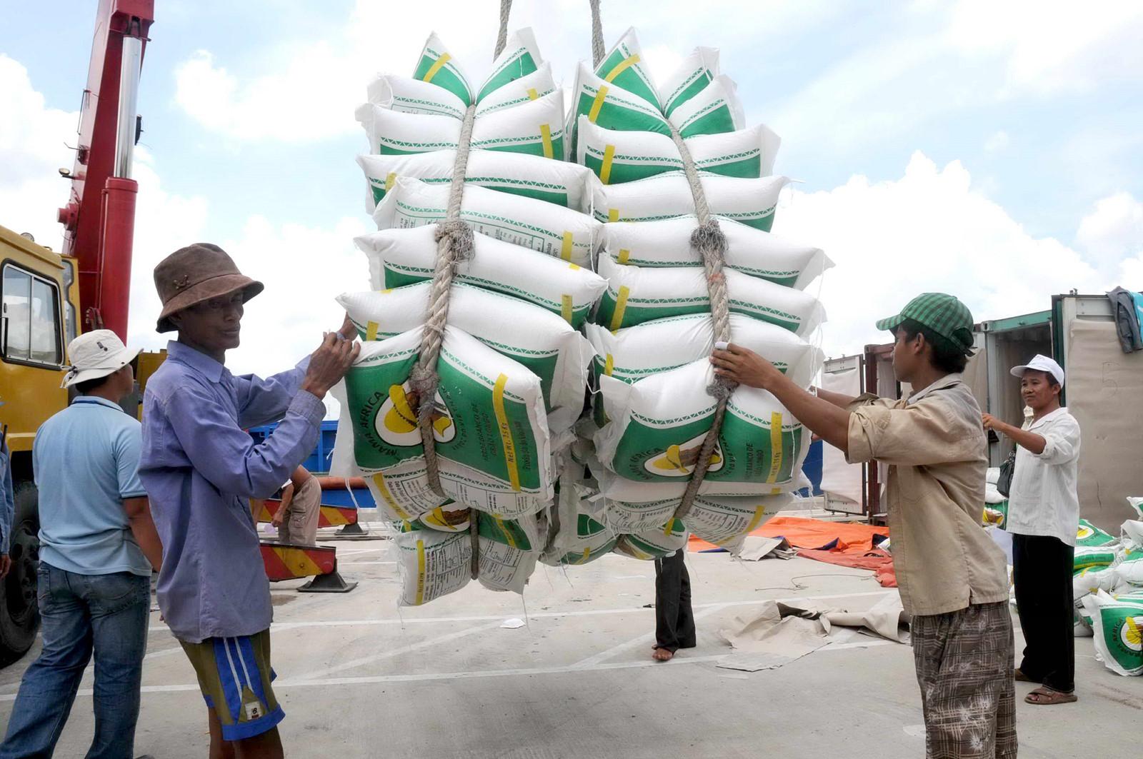 Vụ giấy phép xuất khẩu gạo 20.000 USD là 'không đúng sự thật'. Ảnh minh họa
