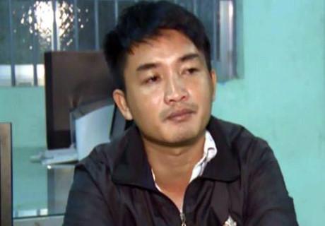 Tài xế Trần Mạnh Thống tại cơ quan cảnh sát điều tra. Ảnh: PhapluatPlus