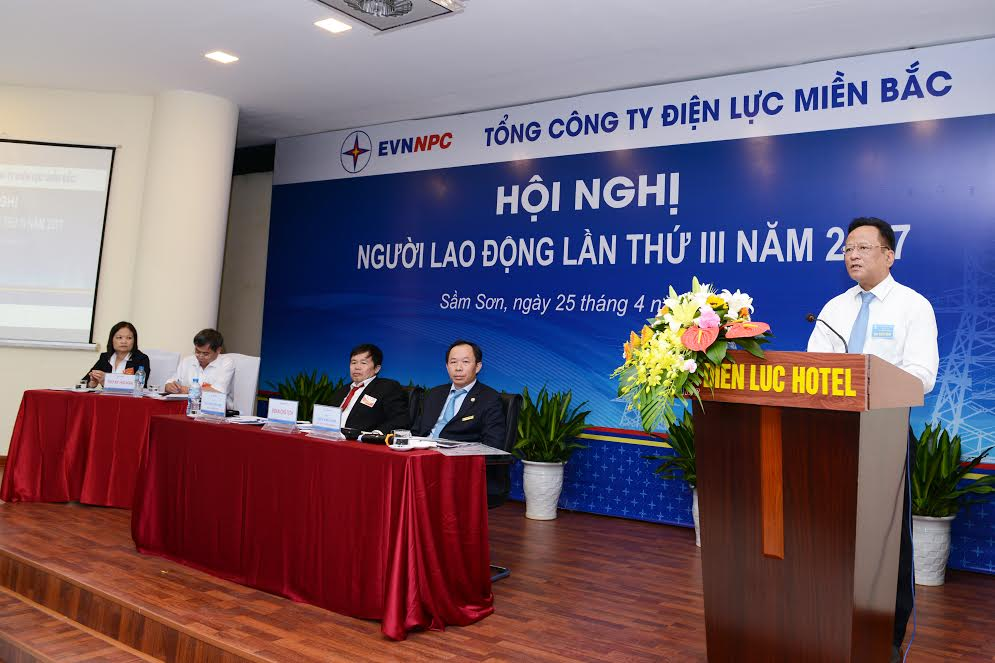 Hội nghị Người Lao động Tổng Công ty Điện lực miền Bắc năm 2017