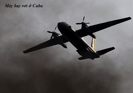 Một máy bay An-26 giống chiếc máy bay rơi của lực lượng vũ trang cách mạng Cuba. Ảnh minh họa