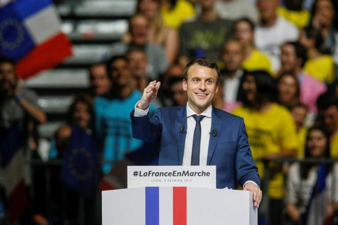 Ông Emmanuel Macron trở thành tổng thống trẻ nhất trong lịch ử nước Pháp. Ảnh: Reuters