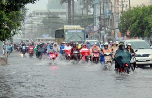 Dự báo thời tiết ngày mai, cả nước sẽ có mưa rào và dông. Ảnh minh họa