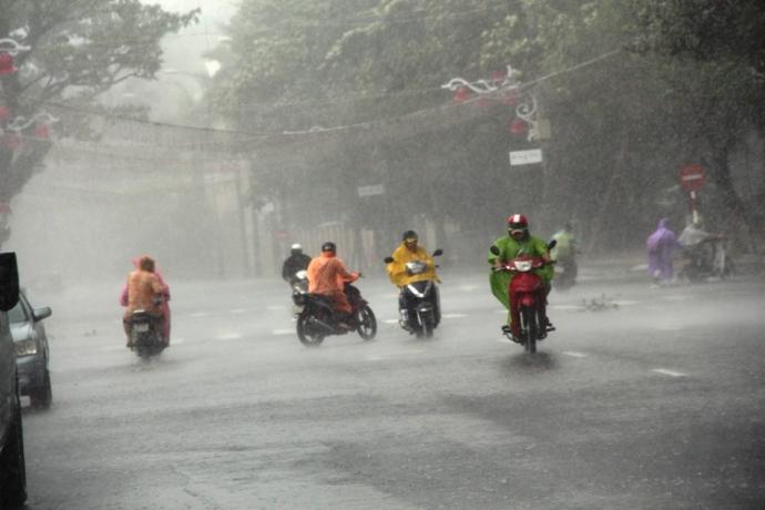 Bắc Bộ tiếp tục mưa lớn kéo dài đến hết ngày 20/6. Ảnh minh họa