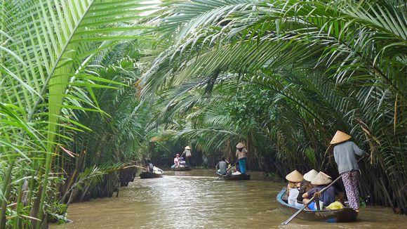 Cồn Qui được nhiều du khách ghé thăm khi đặt chân tới Bến Tre. Ảnh: mekongdeltaexplorer