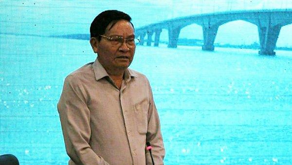 Ông Nguyễn Văn Thanh - Chủ tịch Hiệp hội Vận tải ô tô Việt Nam kiến nghị bỏ trạm thu phí BOT trên Quốc lộ 5 cũ. Ảnh: VietNamNet
