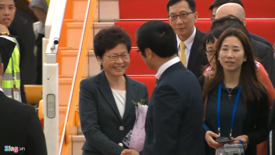 Trưởng đại diện đặc khu hành chính Hongkong (Trung Quốc) Lâm Trịnh Nguyệt Nga (Carrie Lam). Ảnh: Tri thức trực tuyến