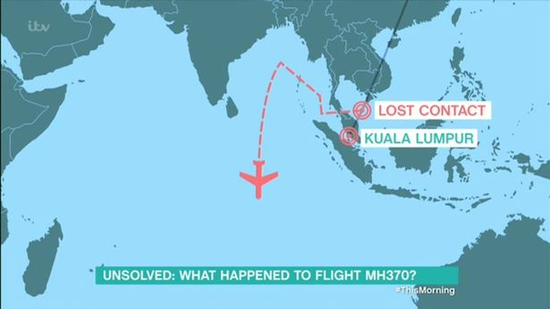 Vụ máy bay MH370 mất tích cho đến nay vẫn chưa có lời giải đáp. Ảnh: Mirror