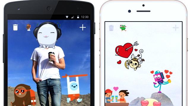 Stickered là một tiện ích mới trên ứng dụng Facebook Messenger