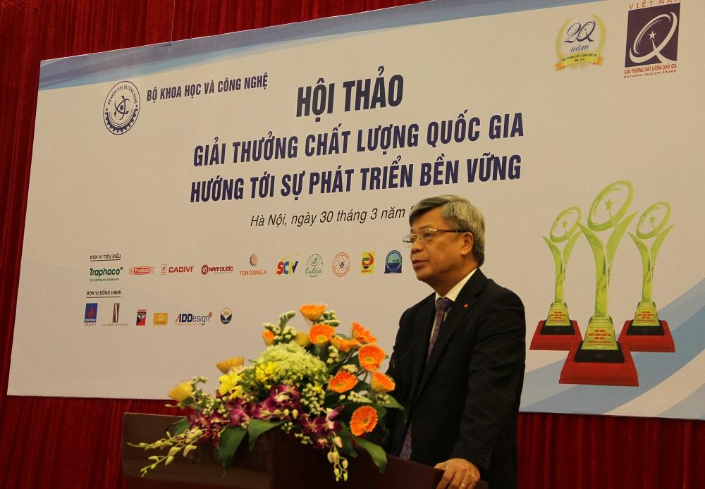 Giải thưởng Chất lượng Quốc gia: Nền tảng về NSCL cho doanh nghiệp