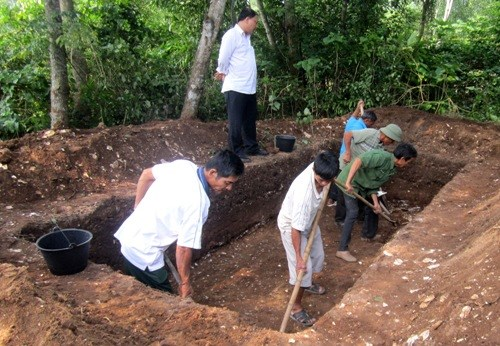 khai quật, di khảo cổ, hậu đá, Thạch Lạc - Hà Tĩnh, viện khảo cổ