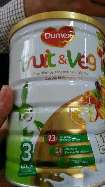 sữa Dumex Fruit, sữa cho trẻ, tiêu chảy, báo mạng, nôn mửa