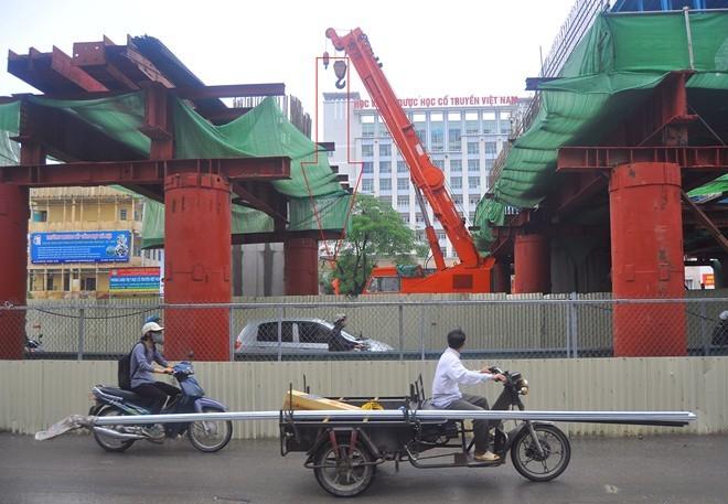 Vụ thép rơi, kỷ luật Chủ tịch Cienco 1, Bộ trưởng Giao thông, đường sắt đô thị,  Cát Linh - Hà Đông.