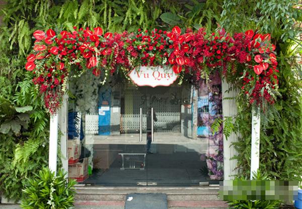 Cây Hồng môn được dùng làm cây hoa trang trí cảnh quan nội ngoại thất. Ảnh minh họa