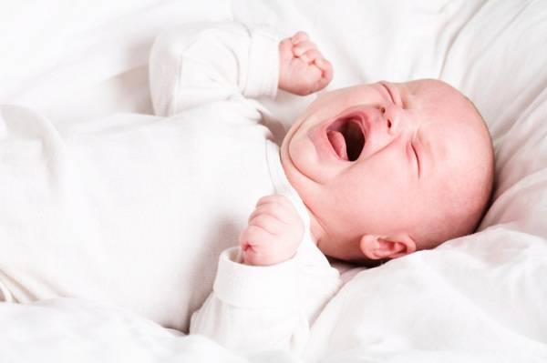 Khóc thét giữa đêm làm tăng nguy cơ đột tử ở trẻ nhỏ. Ảnh minh họa