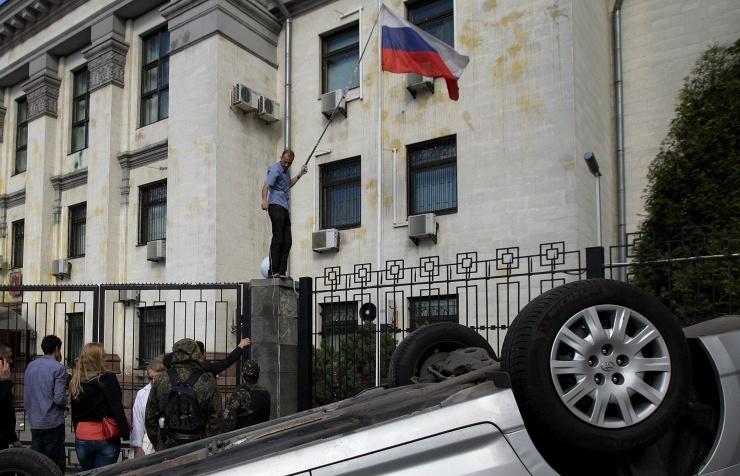 Kiev tuyên bố không muốn tiếp nhận tân đại sứ Nga trong bối cảnh tình hình Ukraine đang ngày càng căng thẳng