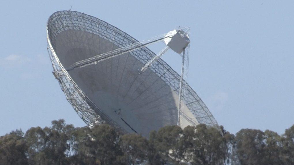Kính viễn vọng vô tuyến Parkes. / Ảnh CGTN