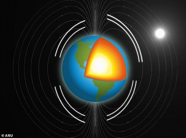 Những tiếng dội phát ra từ những trận động đất cho thấy rằng phần lõi sâu nhất chính là một khối chất rắn vô cùng vững chắc, nhưng không hề cứng.