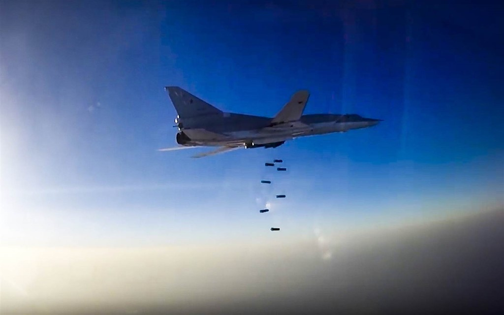 Tình hình chiến sự Syria mới nhất: Nga dùng Iran làm căn cứ để đánh bom nổi dậy Syria