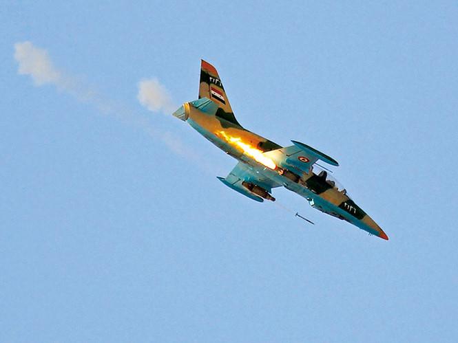 Tình hình chiến sự Syria mới nhất: Chiến đấu cơ Mỹ chạm trán máy bay Syria