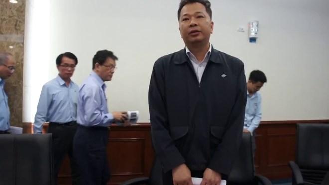 Ông Chu Xuân Phàm là phó phòng đối ngoại công ty Formosa.