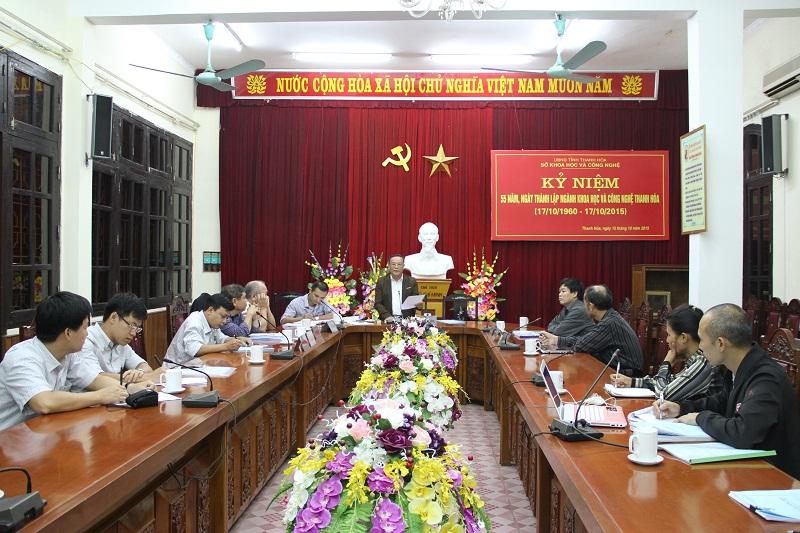 Nghiệm thu dự án gạch không nung Thanh Hóa thuộc chương trình Sở hữu trí tuệ